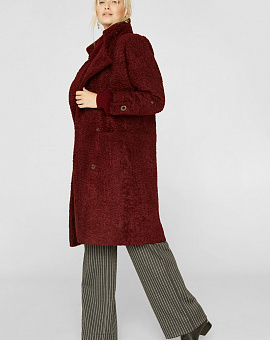 Bordovy coat with insulated base